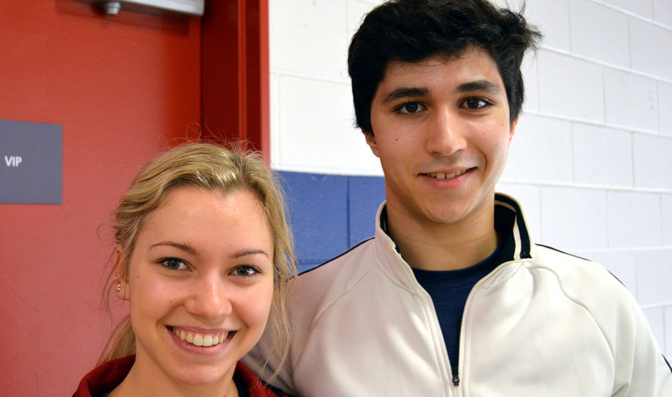 Lajoie & Lagha look ahead to the senior ranks