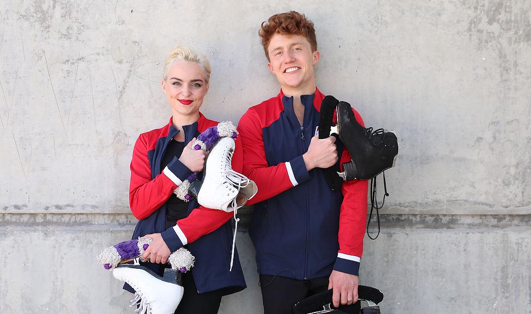 Manta & Johnson skating this season for themselves