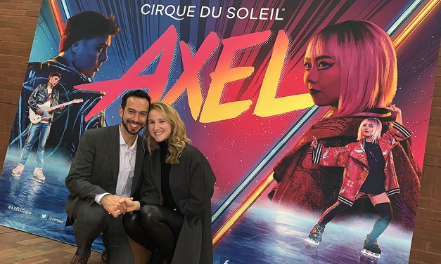 Katherine Hill & Ben Agosto Talk Cirque du Soleil and AXEL