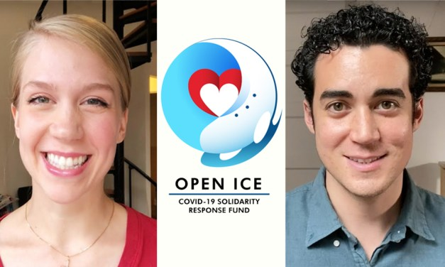 Skaters unite for Weaver and Cowan's Open Ice Live
