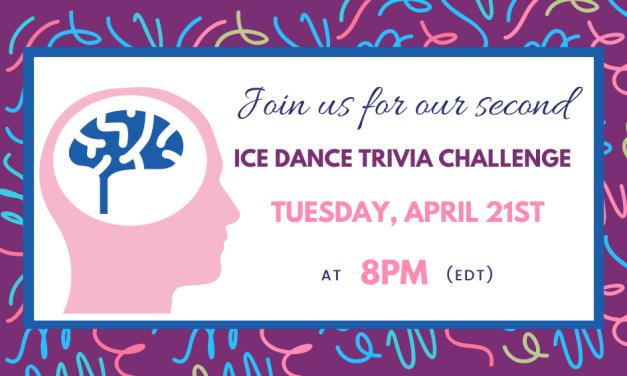 Ice Dance Trivia Challenge #2