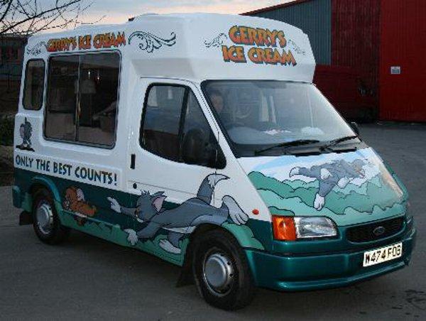 Gerrys Ice Cream Van