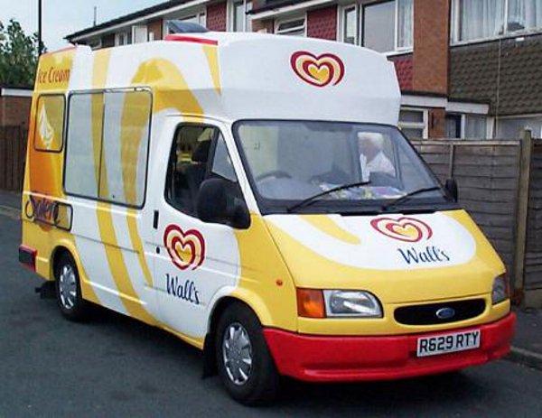 Ice Cream Van Walls Solero
