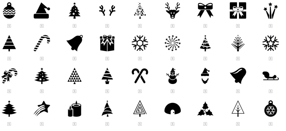 free Christmas resources flaticon icons