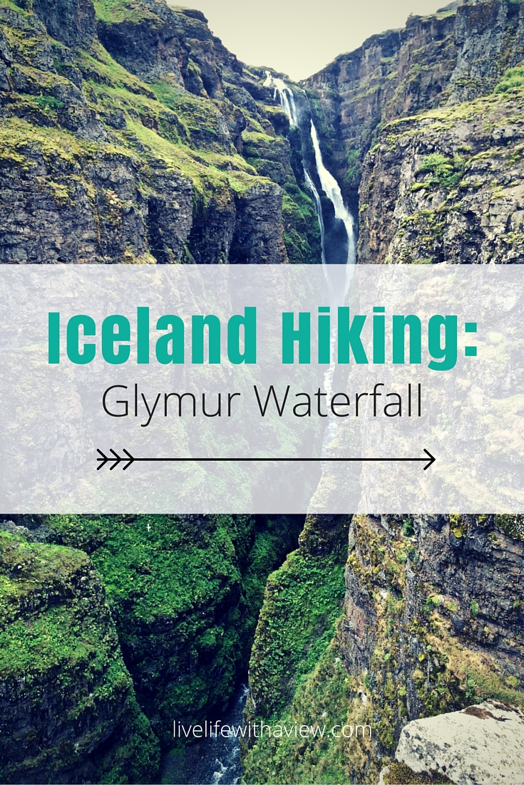 Iceland Hiking - Glymur Waterfall