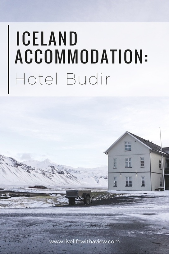 Iceland Accomodation: Charming Hotel Budir in Snaefellsnes Peninsula, West Iceland | Life With a View