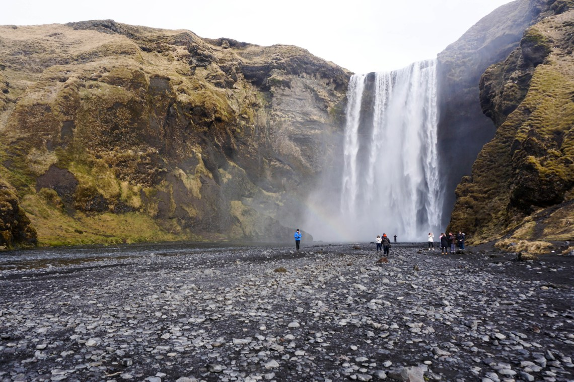 South Iceland must visit places - Skogafoss Waterfall // Iceland trip planning made easy with TripCreator.com | Life With a Viwe