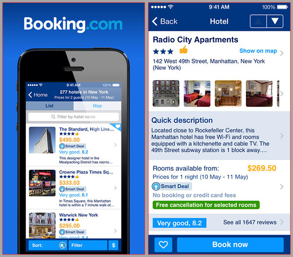 Booking.com - BEST travel apps