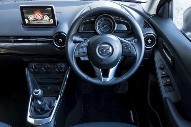 Mazda2 cabin