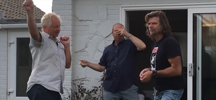 Research has found that 'dad dancing' officially starts at age 37