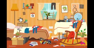 Visual Puzzle: Can You Find all 13 of the unlucky omens in this bad-luck bedroom?
