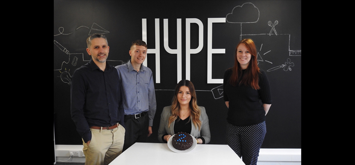 Norwich agency Hype Marketing celebrates its second year in business this month