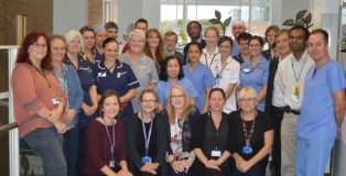 NNUH team carries out the first robotic colorectal cancer surgery in East Anglia