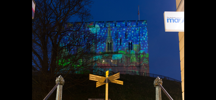 Norwich Christmas Projections