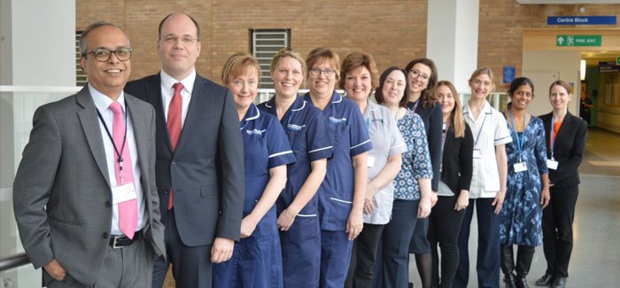 NNUH first in Norfolk and Suffolk to become recognised 'Centre of Excellence' for Urogynaecology