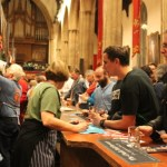 Local brewers on show at the Great British Beer Festival Winter