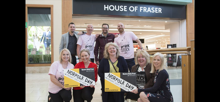 Porkstock Pop-Up At House Of Fraser For Norfolk Day