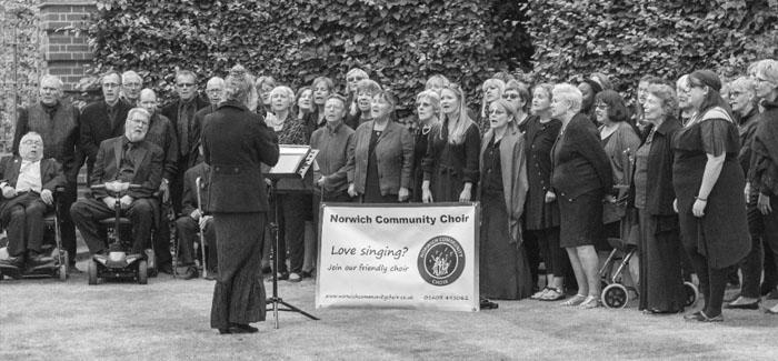 Norwich Community Choir plan to end 10th anniversary year