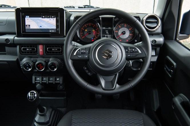 New Suzuki Jimny cabin
