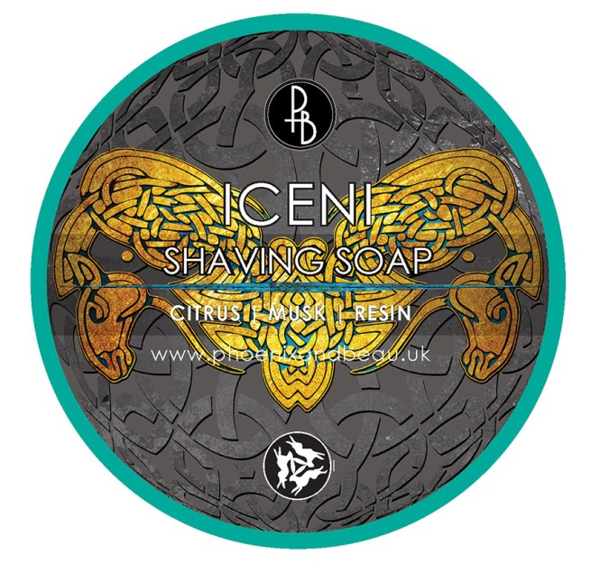 Agent Shave Undercover iceni soap