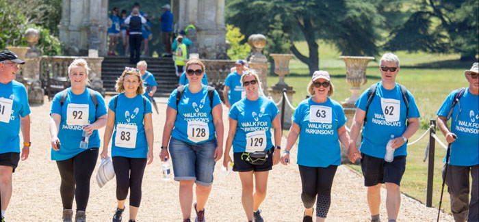 Walk for Parkinson's at the beautiful Blickling Estate