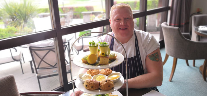 Barnham Broom Celebrates Norwich Promotion with Themed Afternoon Tea