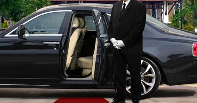 limo door open