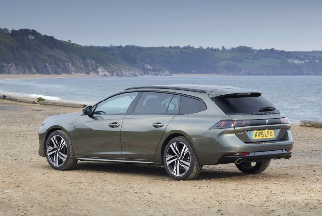 New Peugeot 508 SW 2019 review rear