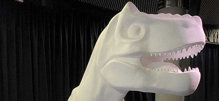 GoGoDiscover T-Rex Sculpture Revealed