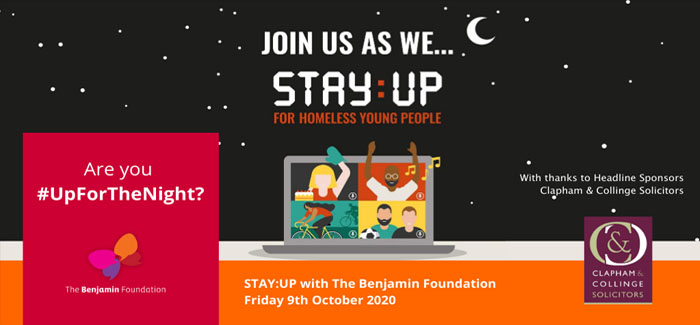 STAY:UP challenges people to stay awake for one night