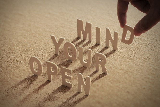 Be More Open Minded