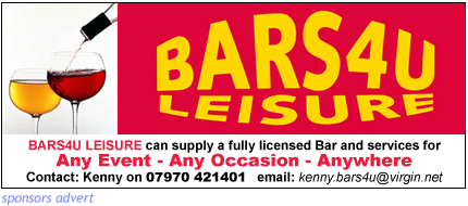 licensed bar fro events