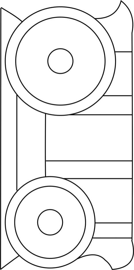 Carriage Bottom Template