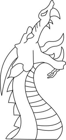 Dragon head 2 Template