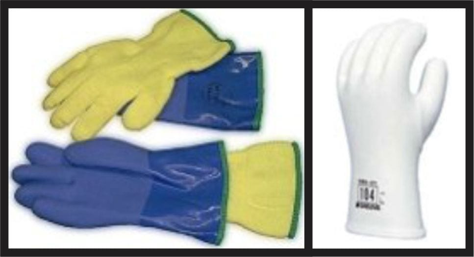 Gloves for Ice Carving
