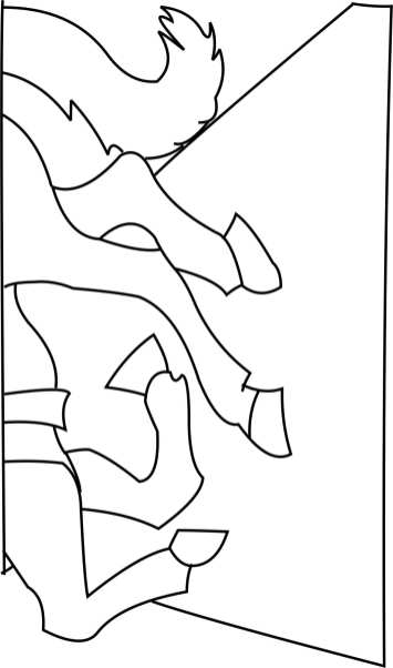2 block Jockey bottom Template