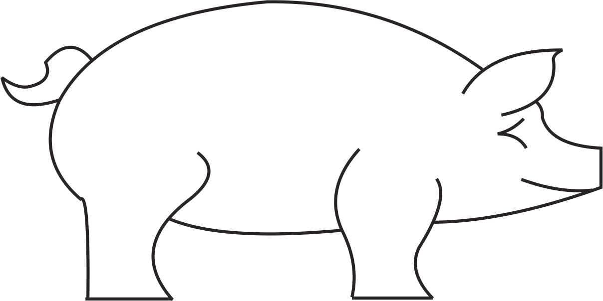 4 Legged Animals Templates