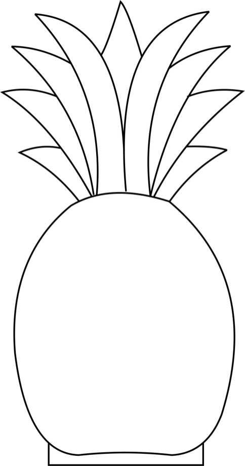 pineapple Template
