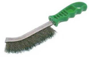 wire-brush-green-handle-plastic-for-ice-sculpting