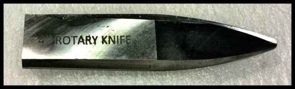 Silver knife 4 inch