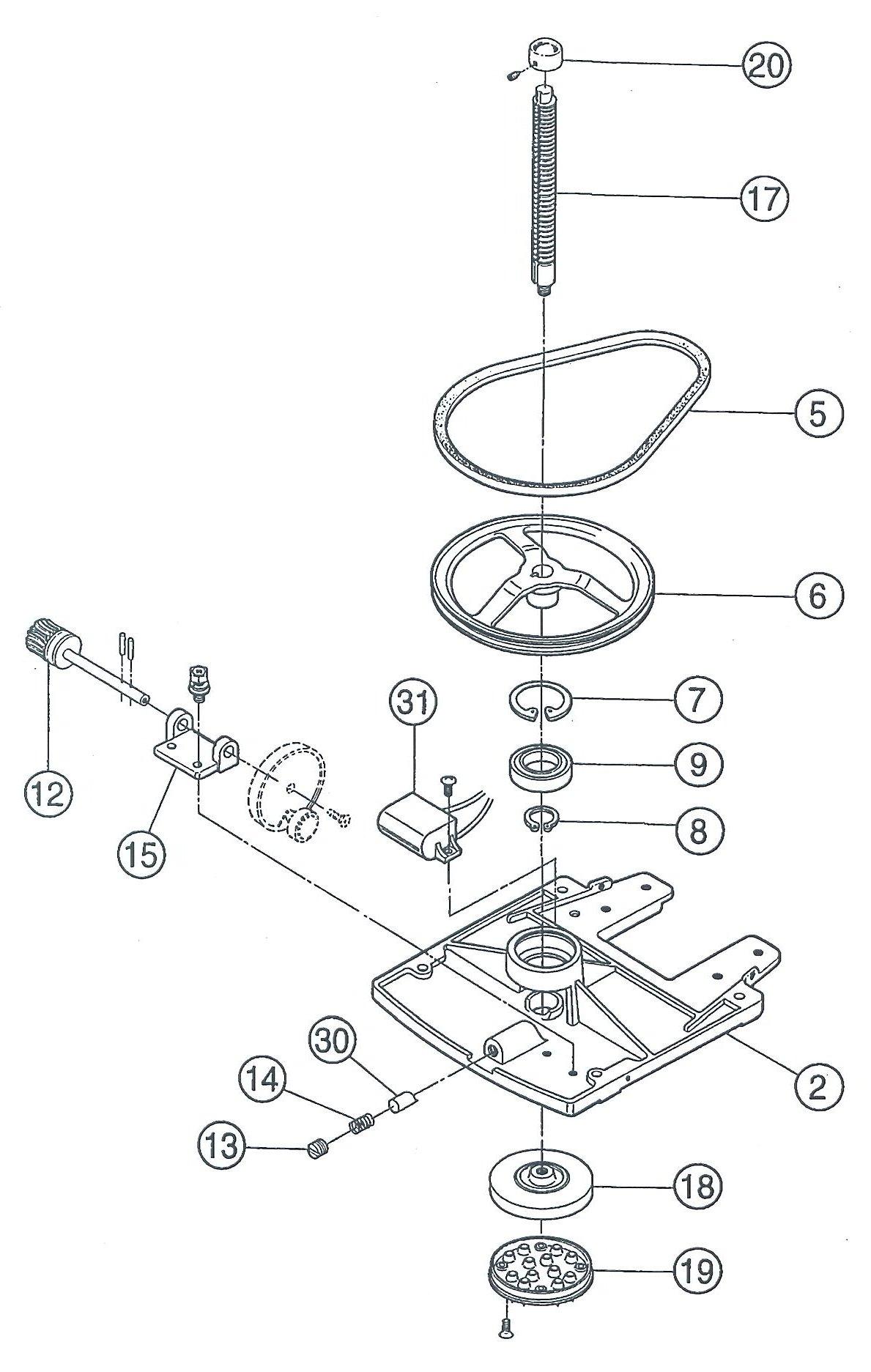 Parts Diagram Si 150s Assemble1 Ice Shavers