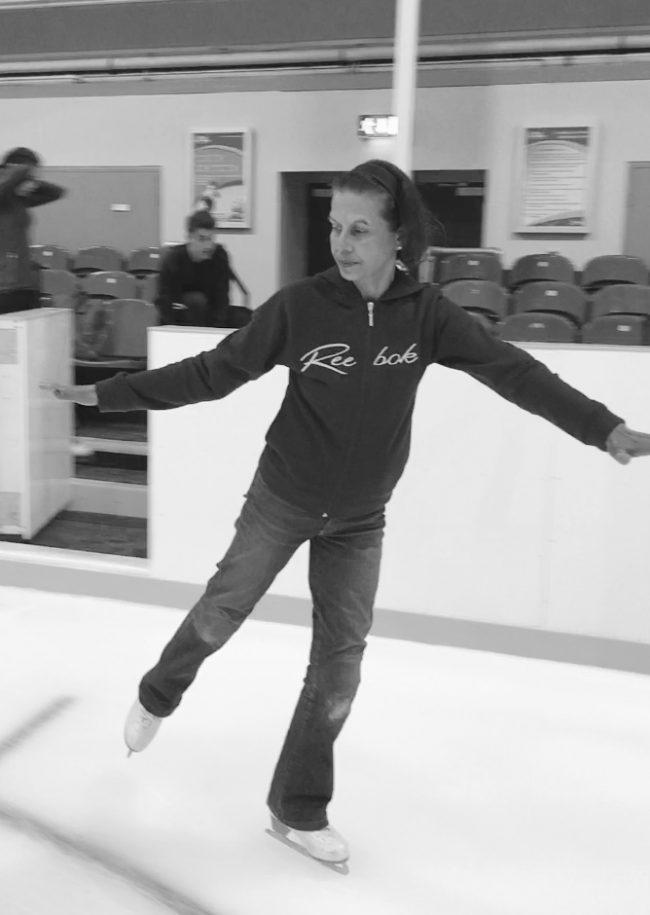 Adult ice skater - iceskating.london
