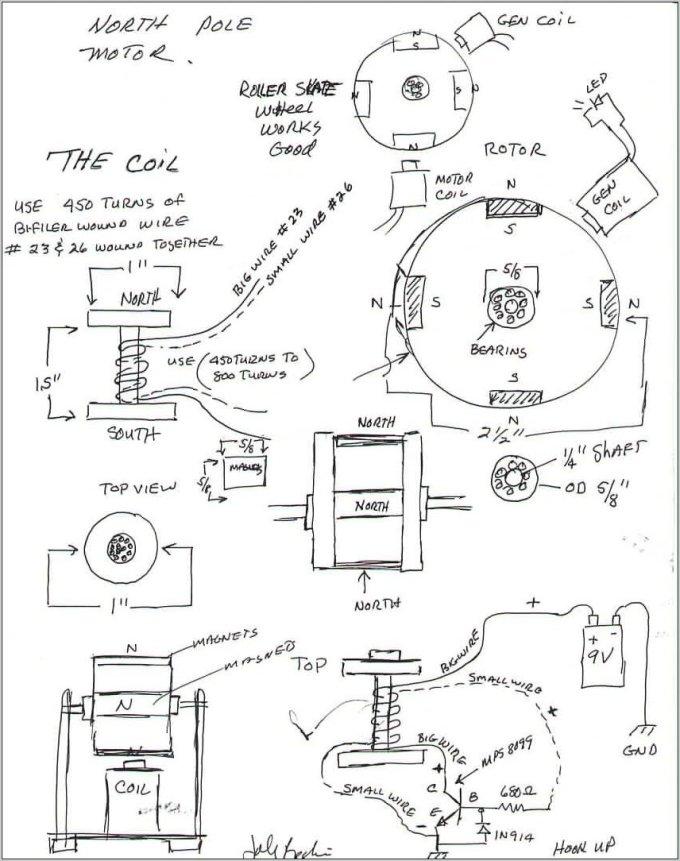 bedini motor circuit diagram