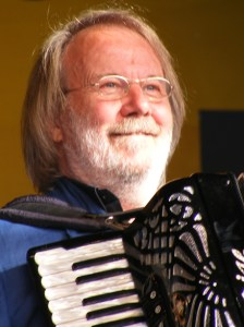 Benny Andersson on stage