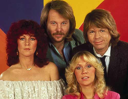 ABBA Night on UK TV's Five channel on 12 April