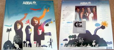 ABBA The Album 2008 vinyl
