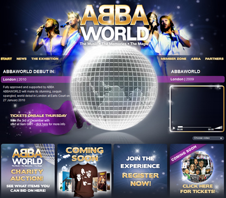 ABBAWORLD to premiere at Earls Court