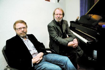 Benny and Björn at Mono Music