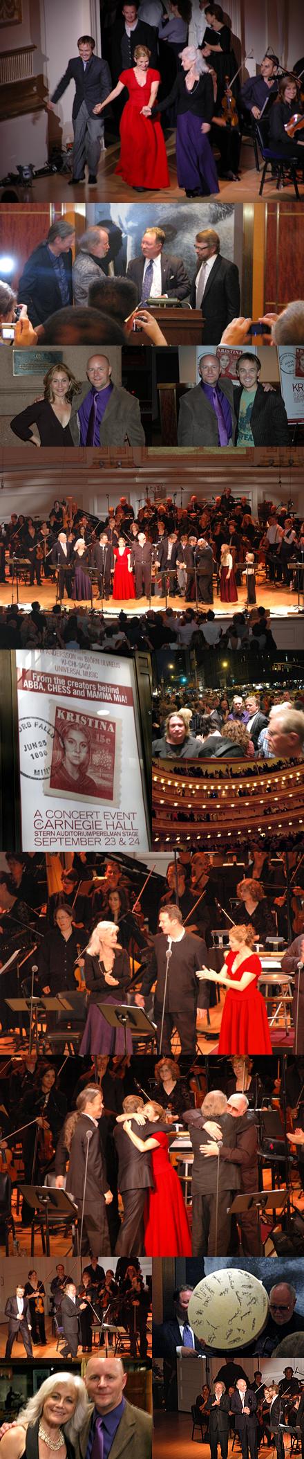 Memories of Kristina in Concert at Carnegie Hall
