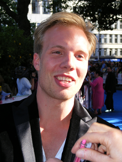Benny Andersson's youngest son Ludwig